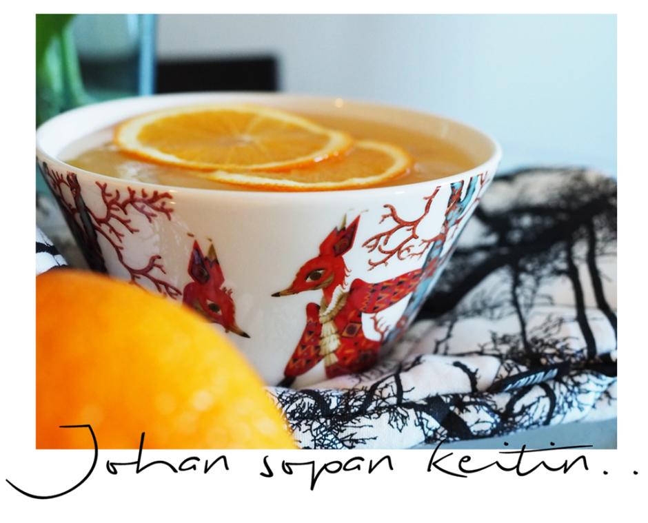 appelsiinikeitto