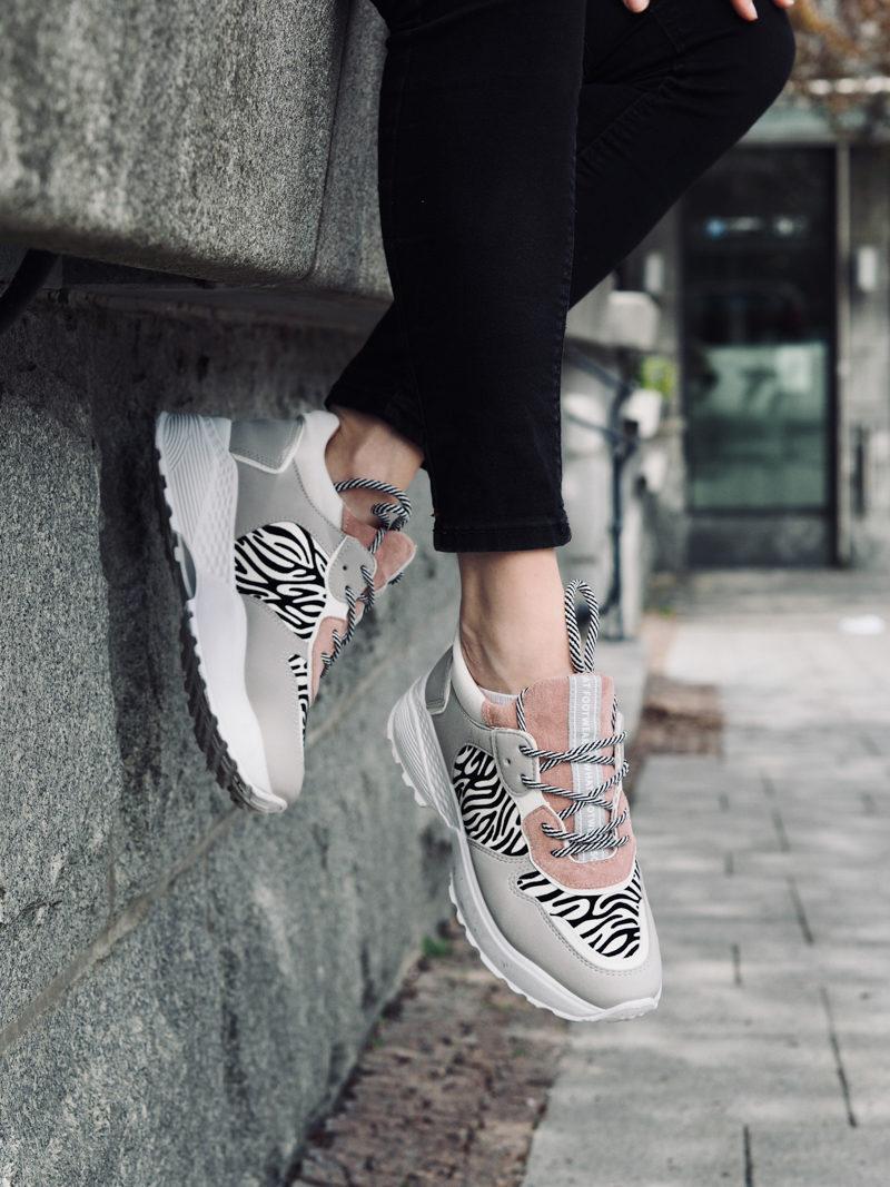 vamsko zebra sneakers