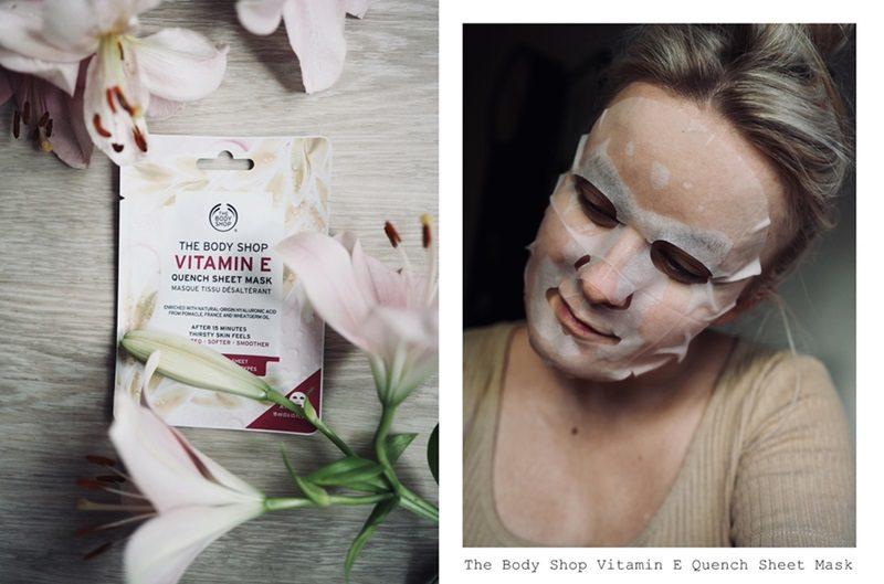 the body shop vitamin e sheet mask