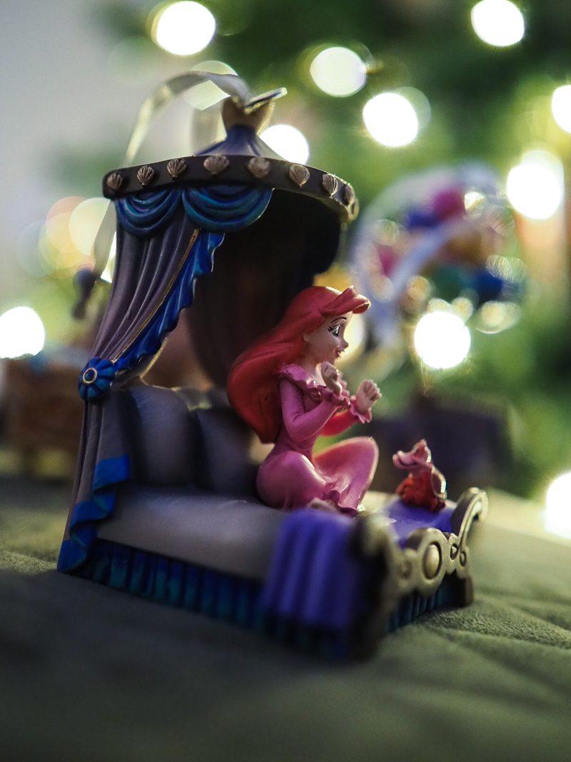 littlemermaid christmas ornament